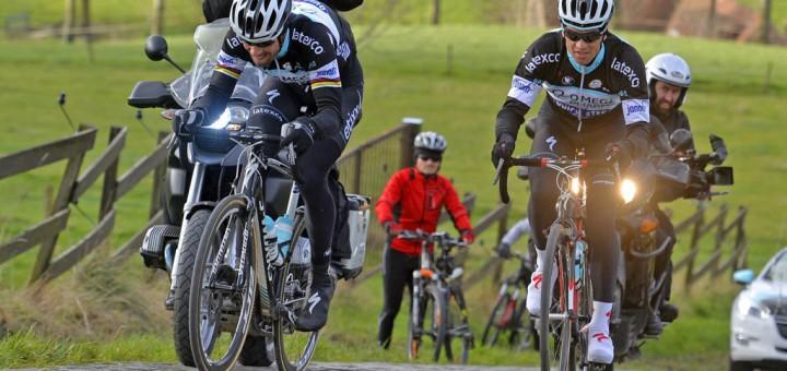 Cycling: recognition 98e Ronde van Vlanderen