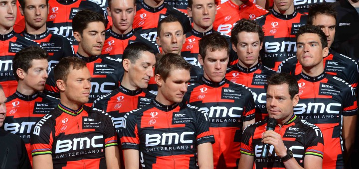 Cycling : Presentation BMC Racing Team 2013