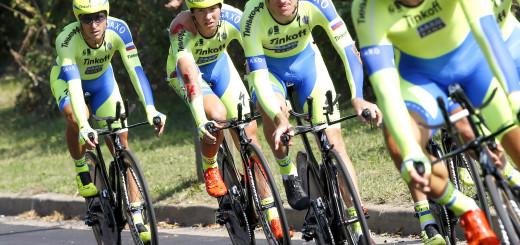 Campionati del Mondo Richmond 2015 - Road World Championship 2015 - Cronosquadre UCI Uomini Elite' 38,6 km - 20/09/2015 - Michael Valgren - Michael Rogers (Tinkoff - Saxo) - foto Luca Bettini/BettiniPhoto©2015
