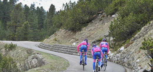 Prova della salita del garniccia Trentino Val di Fassa