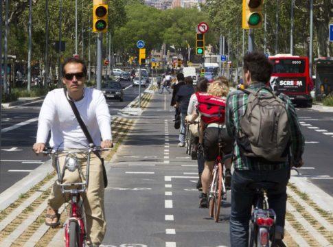 Carril bici sí vs carril bici no