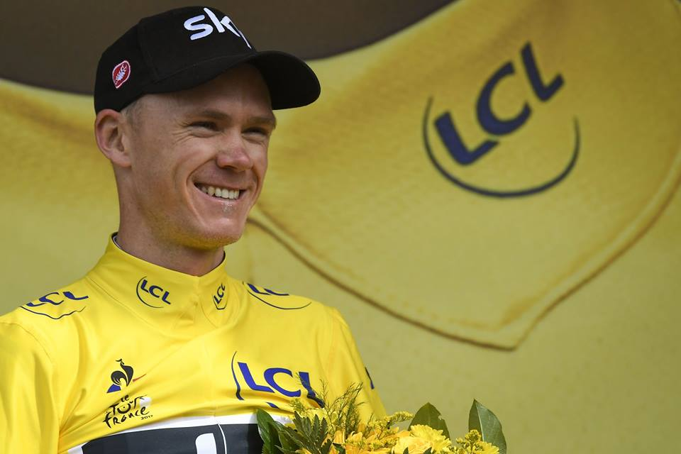 Chris Froome vuelve a ser líder del Tour