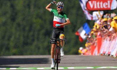 Fabio Aru gana en La Planche des Belles Filles