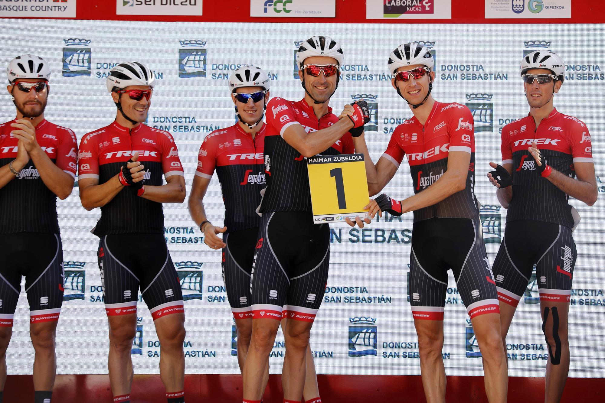 Haimar Zubeldia dejó el ciclismo en San Sebastián