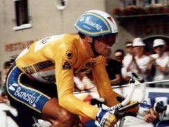 miguel Indurain en la crono final del Tour de 1992
