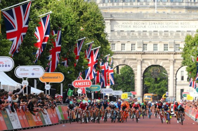 Kristoff wins Prudential Ride London