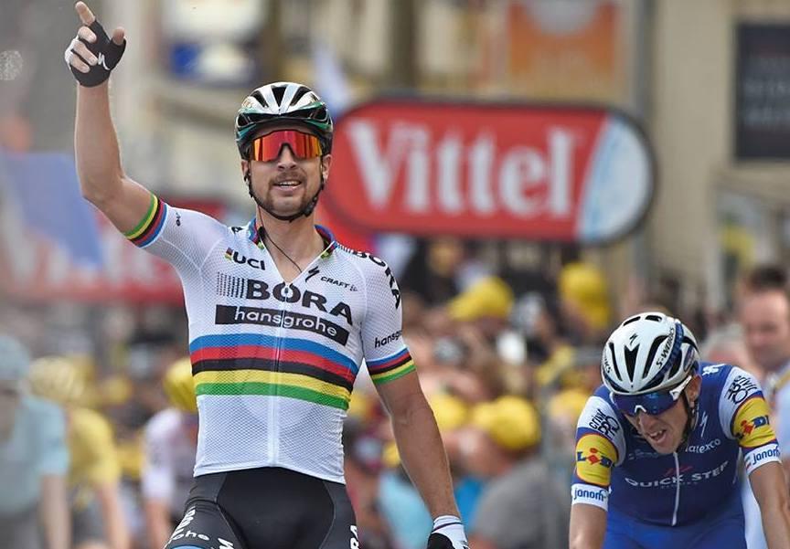 Peter Sagan logra su primera etapa en el Tour 2017