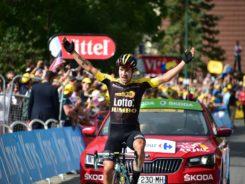 Roglic gana la etapa del Galibier
