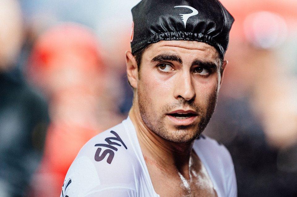 Mikel Landa durante el Tour de Francia