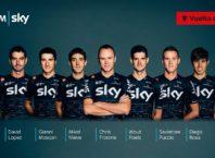 Froome lidera el Team Sky para la Vuelta