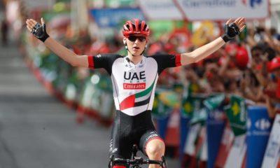 Mohoric gana su etapa en la Vuelta