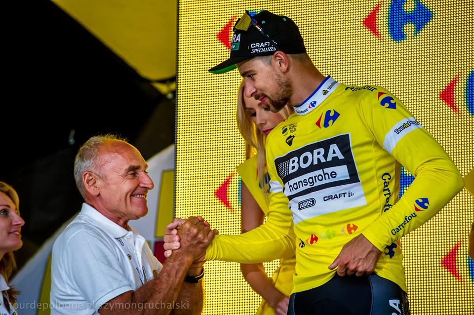Peter Sagan fue líder en la Vuelta a Polonia