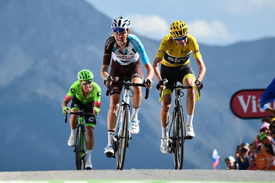 Romain Bardet es una de las estrellas de la Vuelta