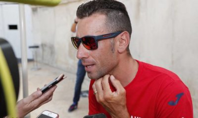 Nibali en la previa de la Vuelta