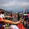 Subida en la Vuelta a Burgos