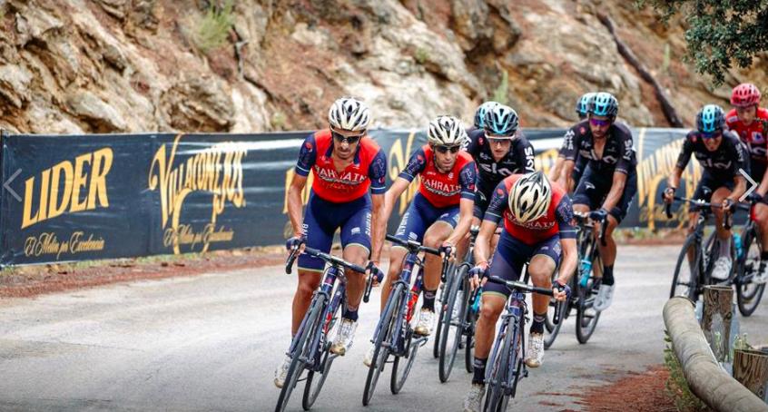 El equipo de Nibali busco atacar en la etapa de Muricia en la Vuelta a España