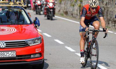 Iván García Cortina, escapado en la Vuelta