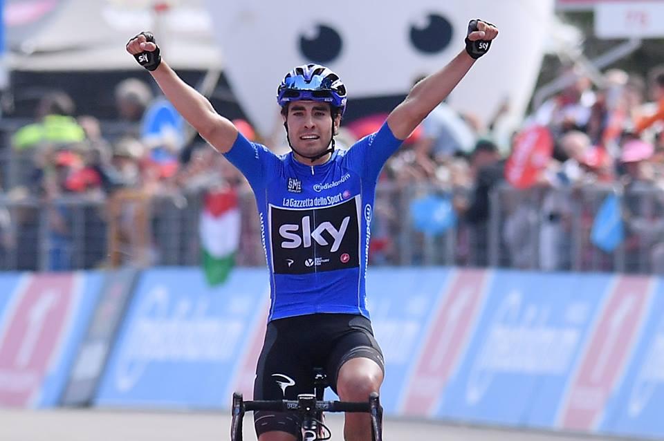 MIquel Landa y el Giro de italia