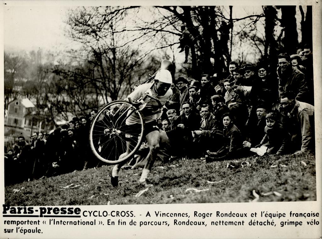 Roger, campeón de ciclocross CX