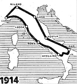 Giro de Italia 1914 JoanSeguidor