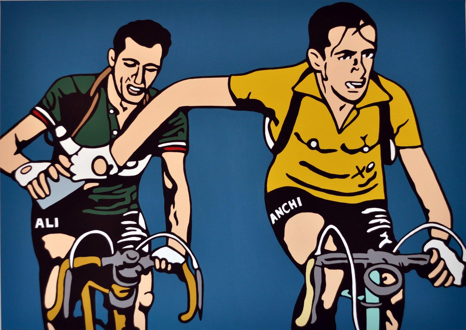 Giro de Italia Bartali Coppi JoanSeguidor
