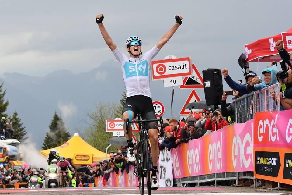 Chris Froome - Giro de Italia JoanSeguidor