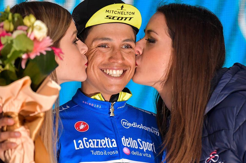 Giro Italia - Esteban Chaves Etna JoanSeguidor