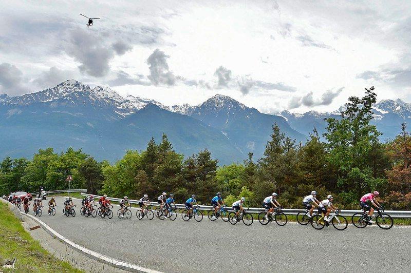 Giro de Italia - Chris Froome maglia rosa Roma JoanSeguidor