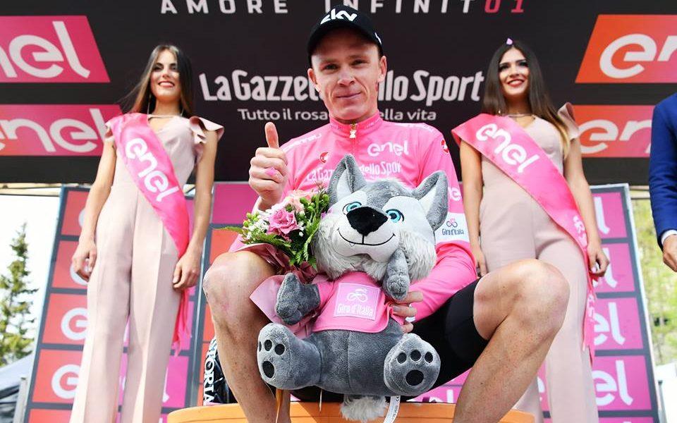 Giro de Italia - Chris Froome maglia rosa JoanSeguidor