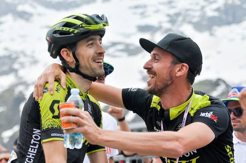 Giro de Italia - Mikel Nieve JoanSeguidor