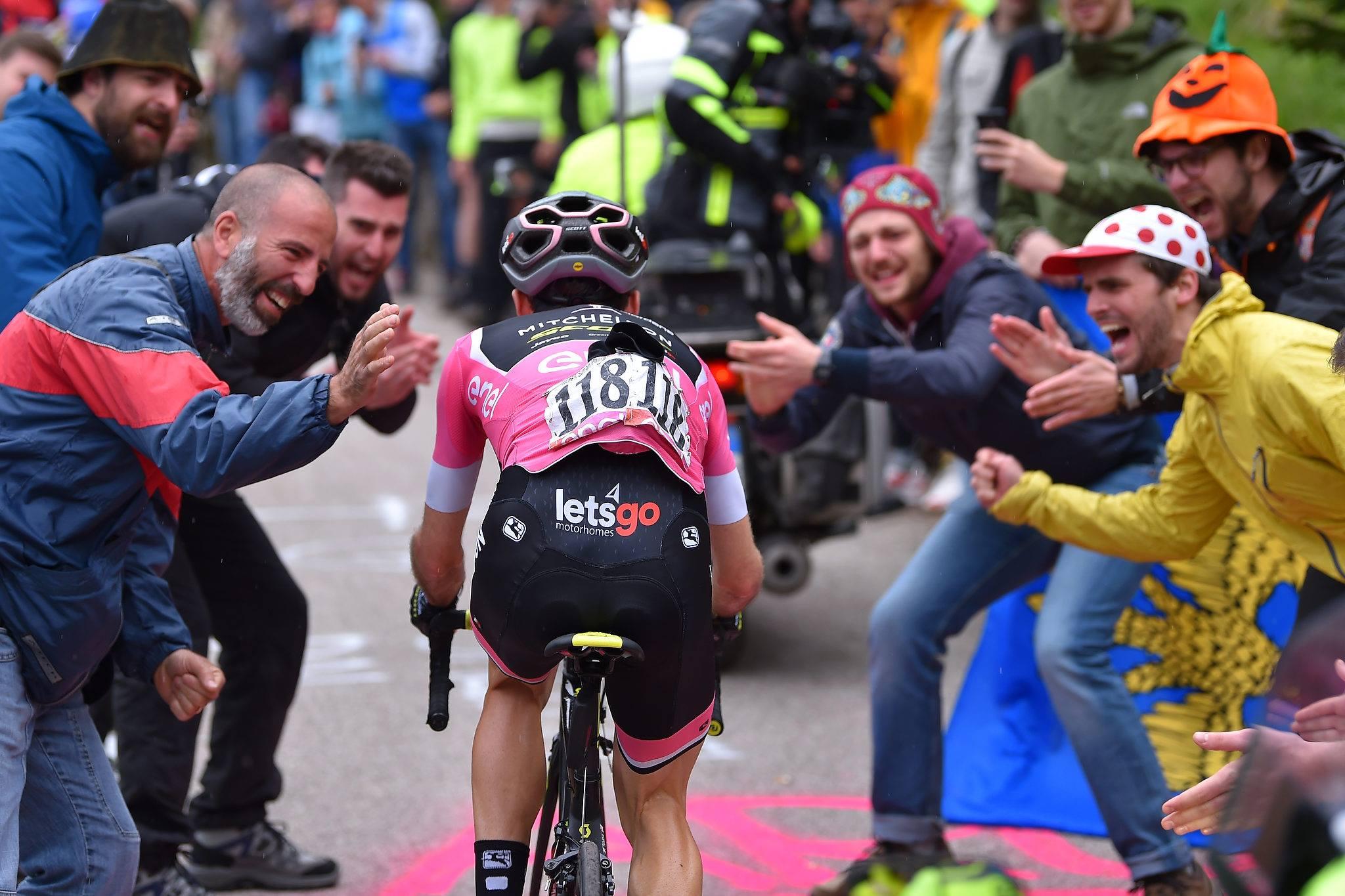 Giro de Italia - Simon Yates Zoncolan JoanSeguidor