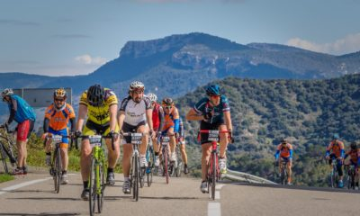 Cicloturistas y ciclistas profesionales JoanSeguidor