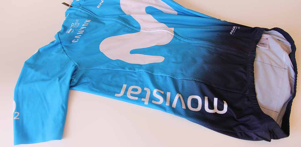 endura y el maillot de movistar team