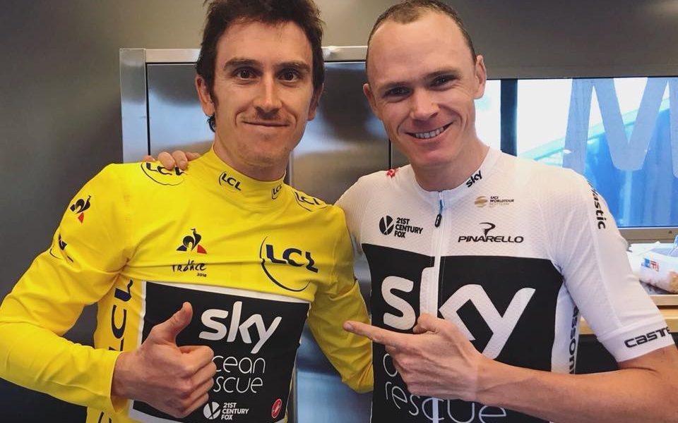 Ciclismo británico Geraint-Froome JoanSeguidor