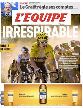 Alpe d´ Huez - Tour -  portada Equipe JoanSeguidor