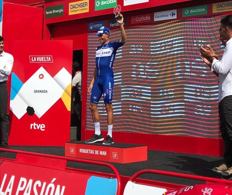 La Vuelta - Enric Mas JoanSeguidor
