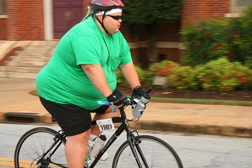 ciclista gordo JoanSeguidor