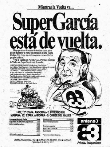 Jose Maria Garcia ciclismo JoanSeguidor