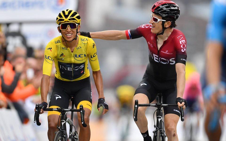 Tour de Francia ganador Egan Bernal JoanSeguidor