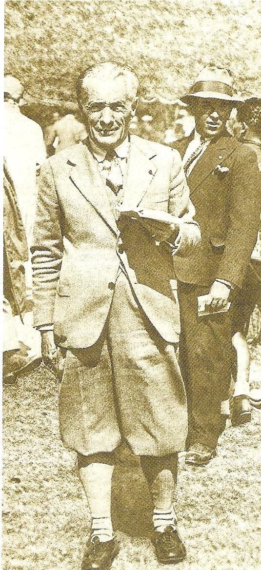 Henri Desgrange, el precursor y director de varias ediciones del Tour de Francia