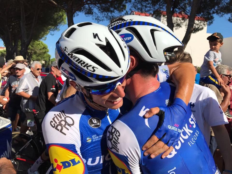 Yves Lampaert etapa y líder en la Vuelta