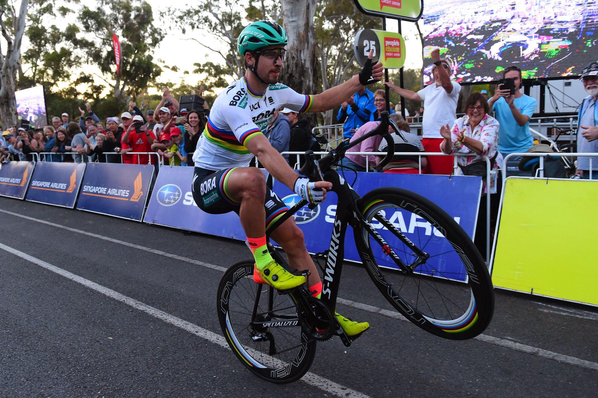 Peter Sagan ganando en Australia JoanSeguidor