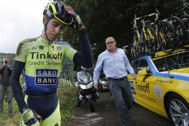 Alberto Contador Bjarne Riis JoanSeguidor