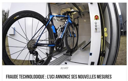 Dopaje mecánico UCI JoanSeguidor