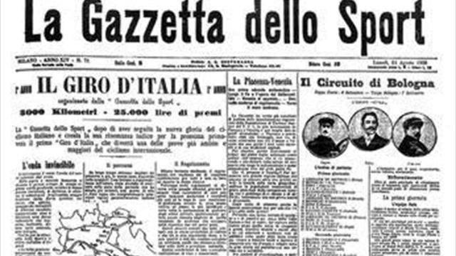 Giro de Italia Gazzetta dello Sport portada JoanSeguidor