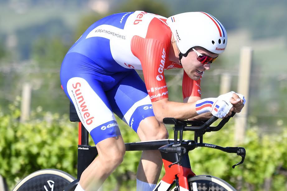 Dumoulin en la crono del Giro - JoanSeguidor