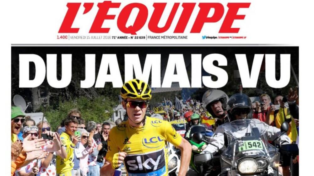Tour de Francia - Mont Ventoux Froome JoanSeguidor