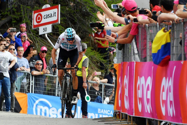 Giro Italia - Froome rendimiento JoanSeguidor
