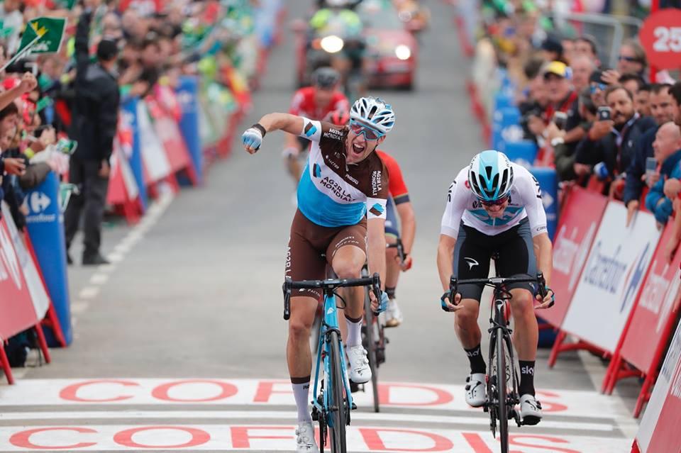 La Vuelta Geniez y Van Baarle La Vuelta