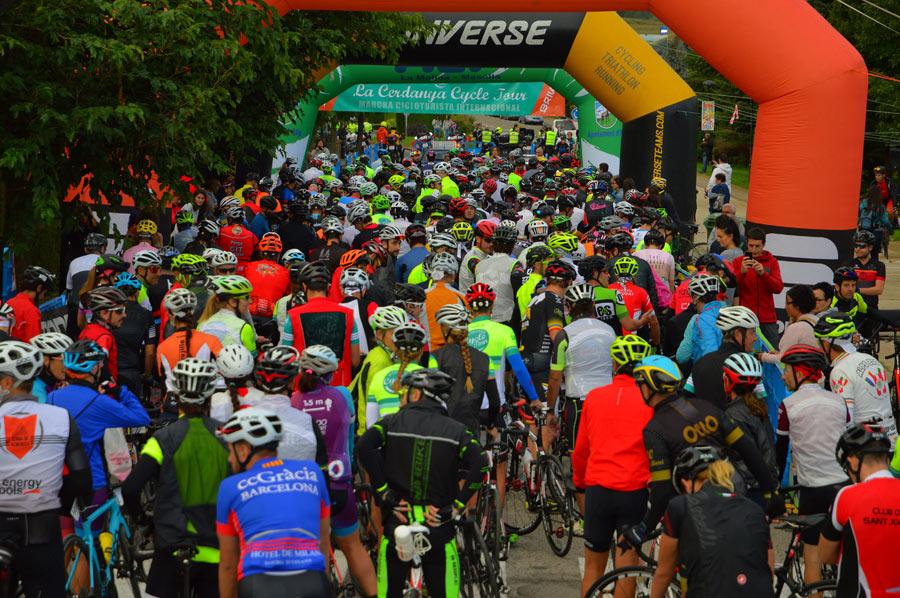 La Cerdanya Cycle Tour Salida JoanSeguidor